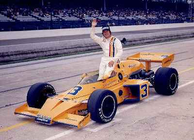 McLAREN CARS - Johnny Rutherford